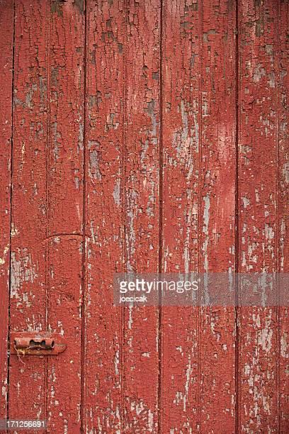 Red Barndoor Background