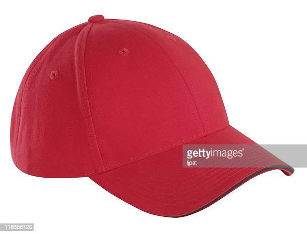 Vermelho Boné de Basebol