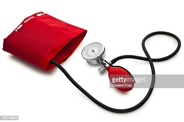 Red blood pressure monitor