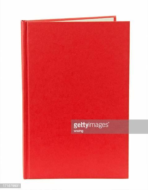 Rouge Couverture de livre avec espace pour copie