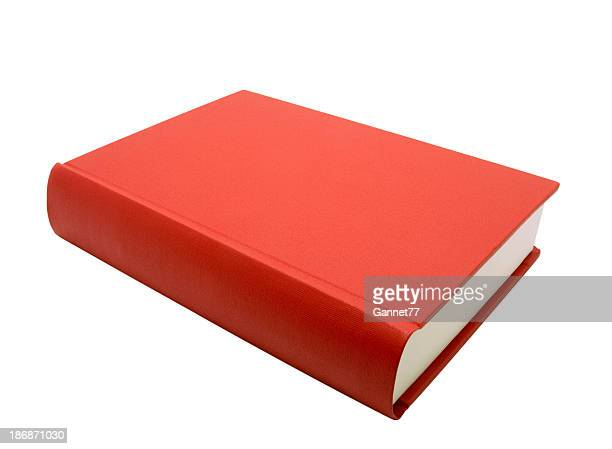 Red Book, isolated on white