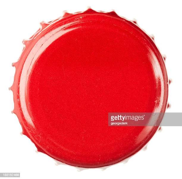 Rouge bouteille de PAC gros plan