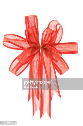 Red bow : Stock Photo