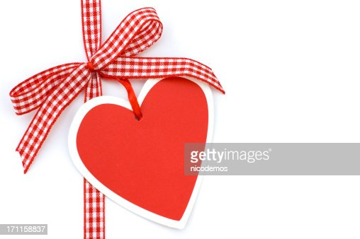 Red Bow with Heart
