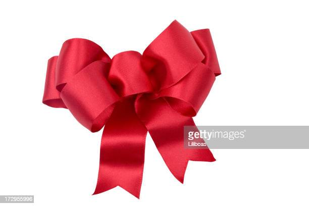 Red Bow (CLIPPING PATH) XXL