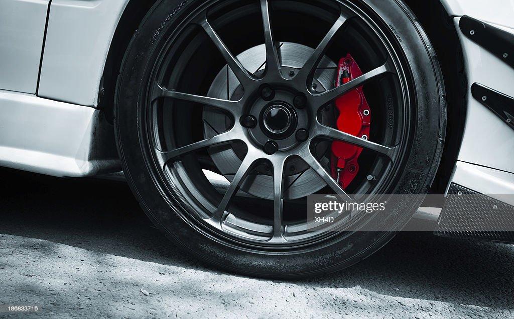 red brake