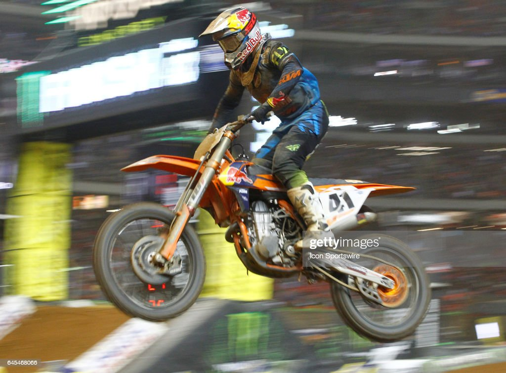 auto: feb 25 monster energy ama supercross - atlanta pictures