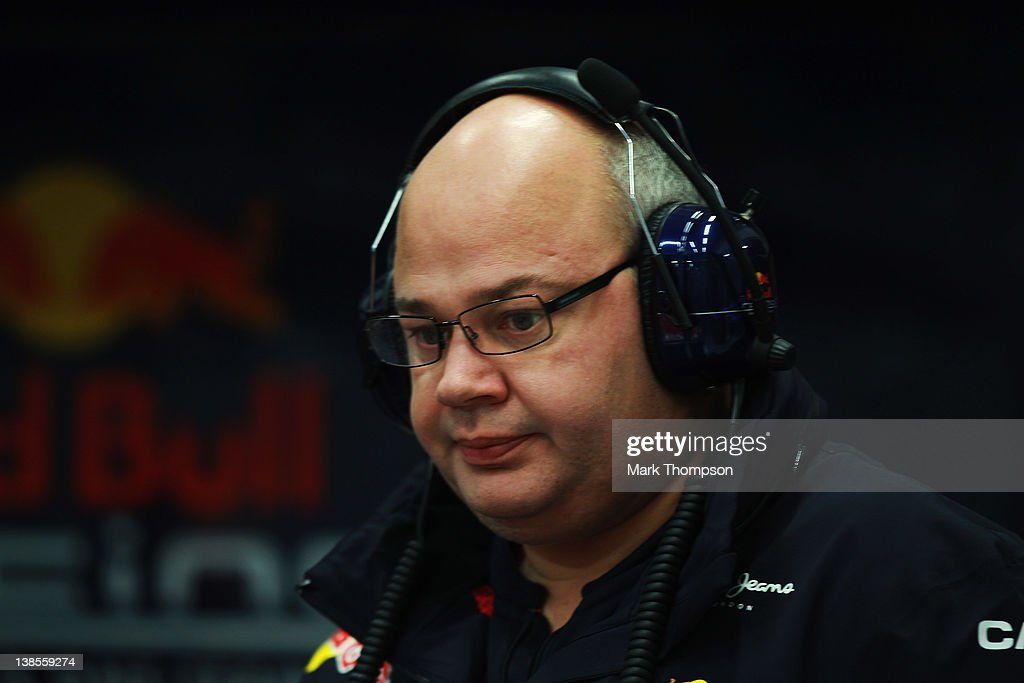 Red Bull Racing Chief Designer Rob Marshall is seen during day three of Formula One winter testing at the Circuito de Jerez on February 9, 2012 in Jerez de la Frontera, Spain.
