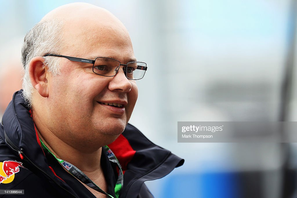 Red Bull Racing Chief Designer Rob Marshall is seen during practice for the Australian Formula One Grand Prix at the Albert Park circuit on March 16, 2012 in Melbourne, Australia.
