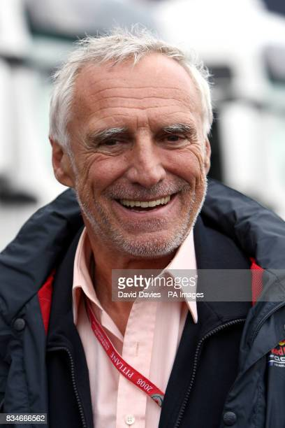 Red Bull Racing owner Dietrich Mateschitz during the French Grand Prix at MagnyCours