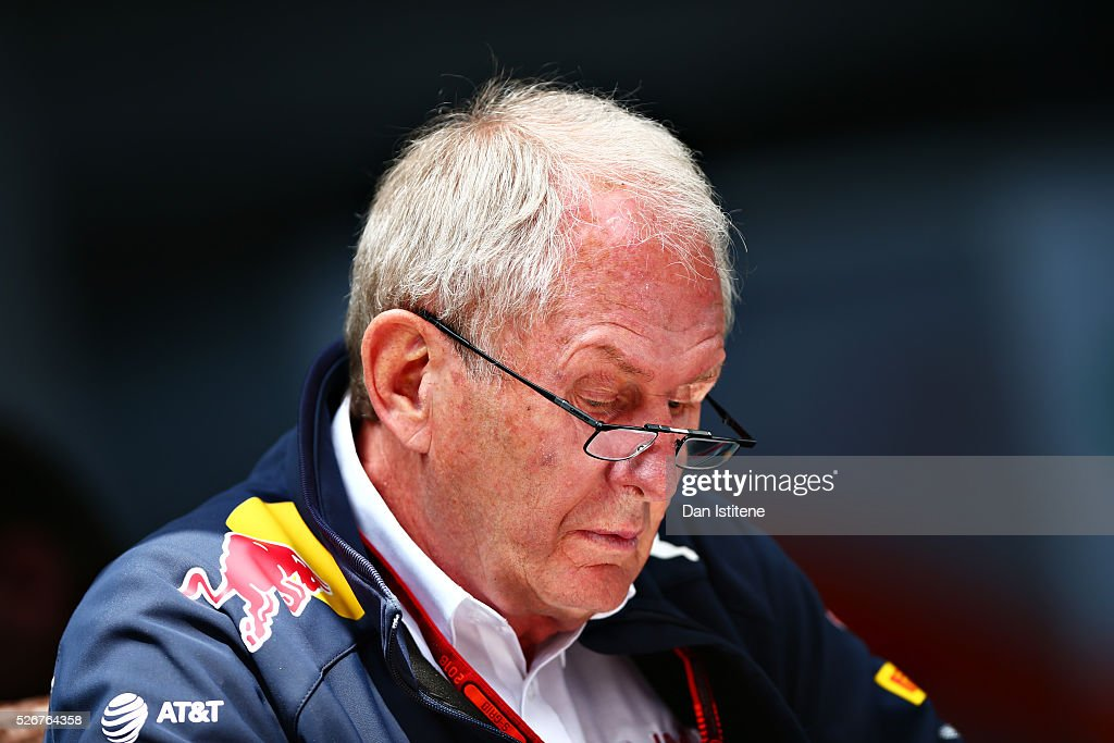 Red Bull Racing Team Consultant Dr Helmut Marko in the Paddock ahead of the Formula One Grand Prix of Russia at Sochi Autodrom on May 1, 2016 in Sochi, Russia.