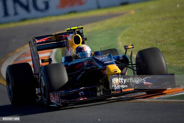 Red Bull Racing's Sebastian Vettel during the Australian Grand Prix at Albert Park Melbourne Australia