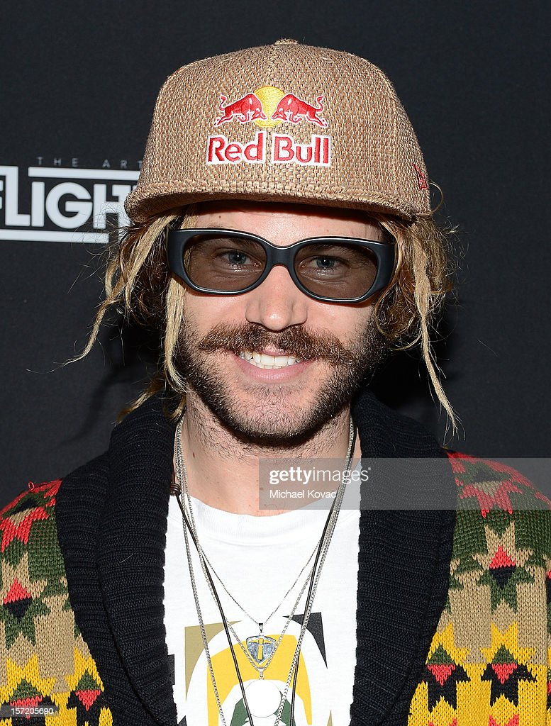 Red Bull snowboard athlete John Jackson attends the Los Angeles Screening of The Art of Flight 3D at AMC Criterion 6 on November 29, 2012 in Santa Monica, California.