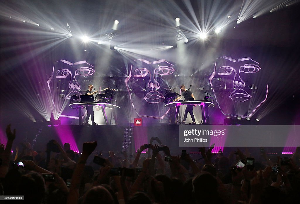 Red Bull Studios London Presents Disclosure Live at the Troxy on September 24 2015 in London England