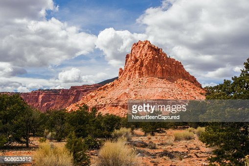 Red Butte - Utah : Stock Photo