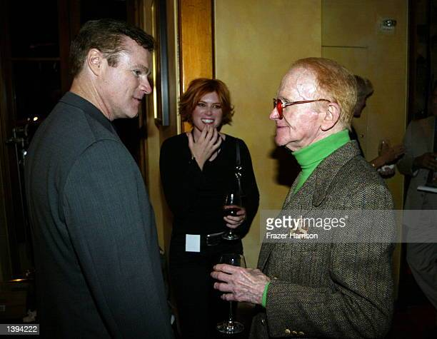 Red Buttons and David Keith at the Press conference and VIP reception to kick off the Jason Foundation' s Teen Suicide awareness education and...