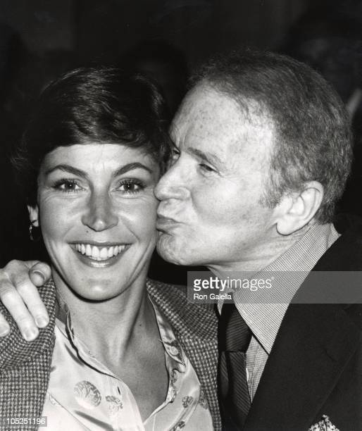 Red Buttons and Helen Reddy during Jerry Brown Fundraiser at Beverly Wilshire Hotel in Beverly Hills California United States