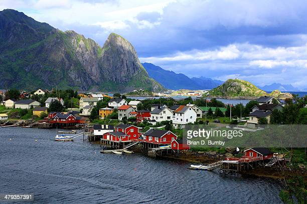 Red Cabins in Reine, Norway