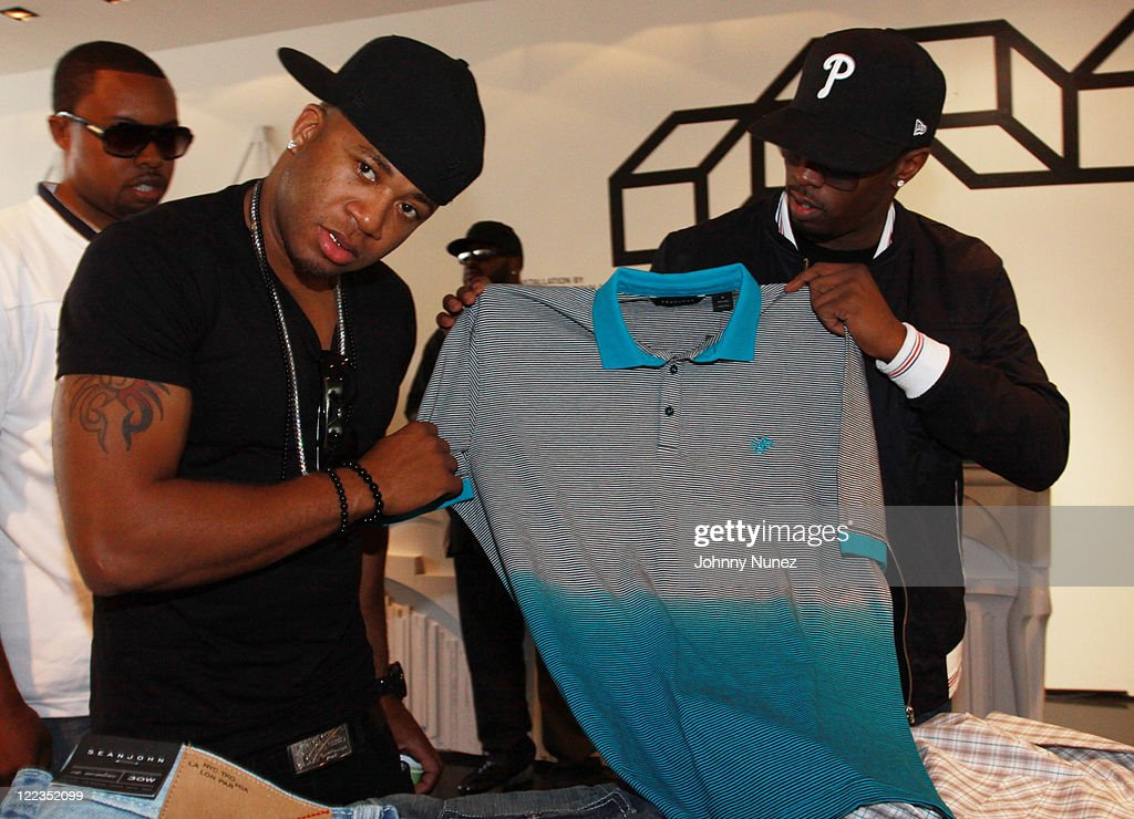 Red Cafe and Sean 'Diddy' Combs attend Sean John's Pre BET Awards Block Party on June 26 2010 in West Hollywood California