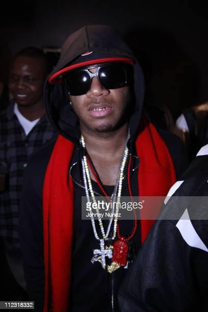 Red Cafe attends BB Kings on March 22 2010 in New York City