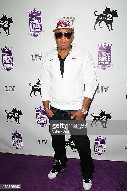 Red Cafe attends The 2011 MTV2 Sucker Free Awards at Fountainbleau Miami Beach on November 11 2011 in Miami Beach Florida