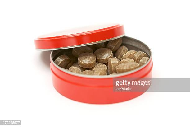 Red Candy Tin