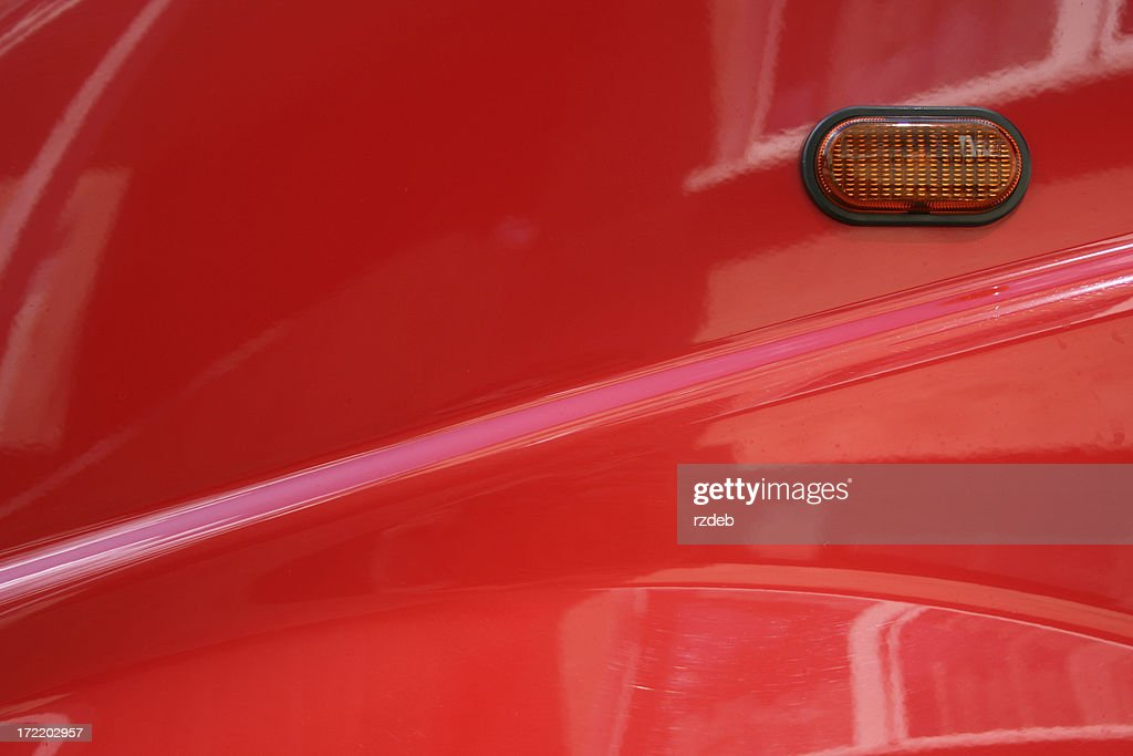 Red car element : Stock Photo