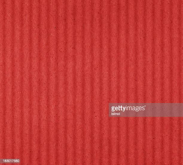 red cardboard