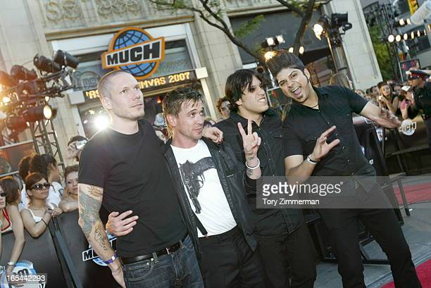 MMVAS Red carpet arrivals at the Much Music Video Awards In this pic Billy Talent Tory Zimmerman/Toronto Star