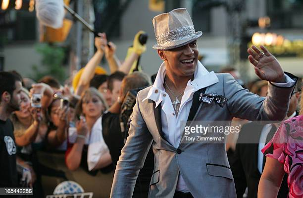 MMVAS Red carpet arrivals at the Much Music Video Awards In this pic Jay Manuel host of Canada's next top model