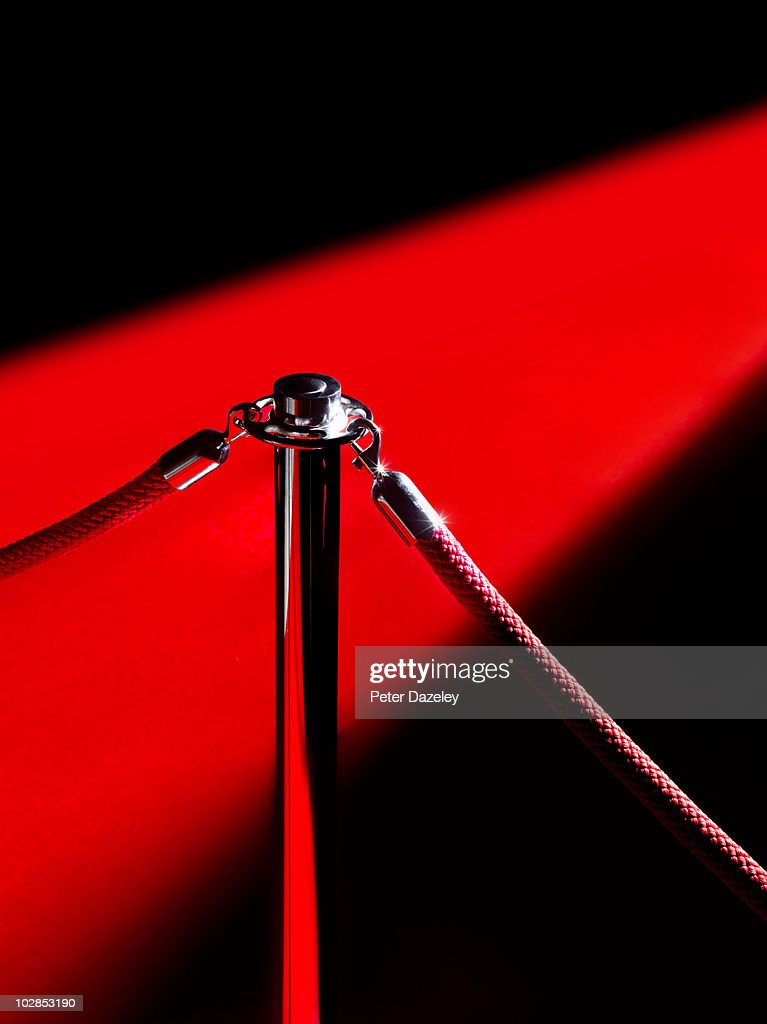 Red carpet event : Stock Photo