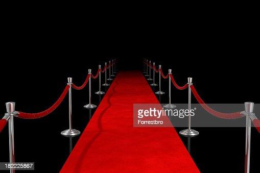 Red Carpet on Black