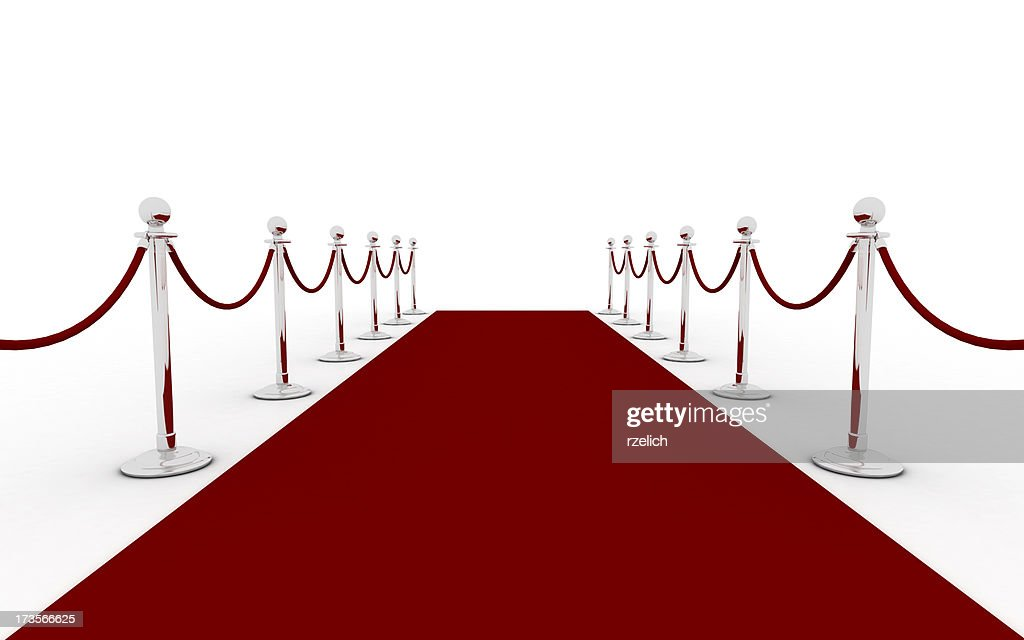 Red carpet (silver)