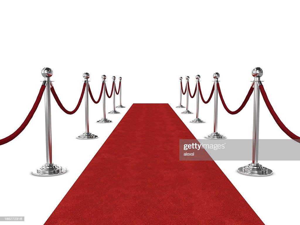Red Carpet : Stock Photo
