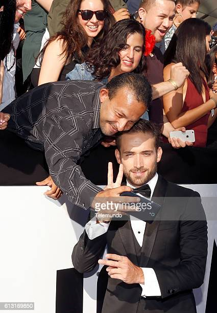 AWARDS 'Red Carpet' Pictured Actor Mauricio Henao arrives at the 2016 Latin American Music Awards at the Dolby Theater in Los Angeles CA on October 6...