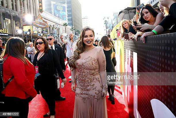 Adrienne Bailon arrives at the 2015 Latin American Music Awards at The Dolby Theater in Hollywood CA on October 8 2015 LATIN AMERICAN MUSIC AWARDS...