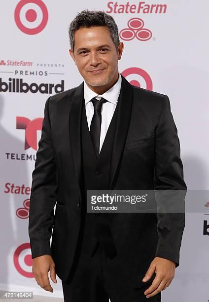 Alejandro Sanz arrives at the 2015 Billboard Latin Music Awards from Miami Florida at the BankUnited Center University of Miami on April 30 2015...