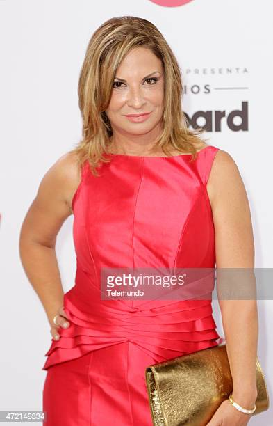 Ana María Polo arrives at the 2015 Billboard Latin Music Awards from Miami Florida at the BankUnited Center University of Miami on April 30 2015...