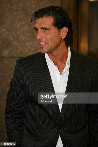 MAY 2007 'Red Carpet' Pictured Christian Meier arrives at the 2007 Telemundo Upfront event on May 15 2007