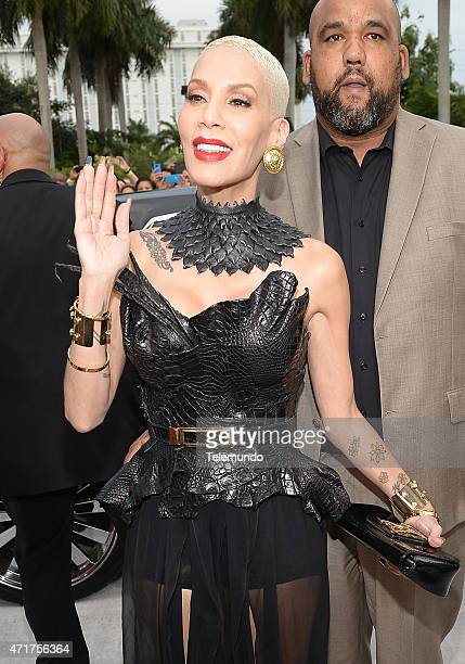 Ivy Queen arrives at the 2015 Billboard Latin Music Awards from Miami Florida at the BankUnited Center University of Miami on April 30 2015 PREMIOS...