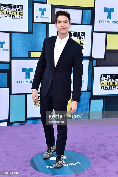AWARDS 'Red Carpet' Pictured Johann Vera arrives at the 2016 Latin American Music Awards at the Dolby Theater in Los Angeles CA on October 6 2016