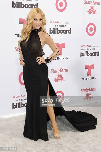 Marta Sánchez arrives at the 2015 Billboard Latin Music Awards from Miami Florida at the BankUnited Center University of Miami on April 30 2015...