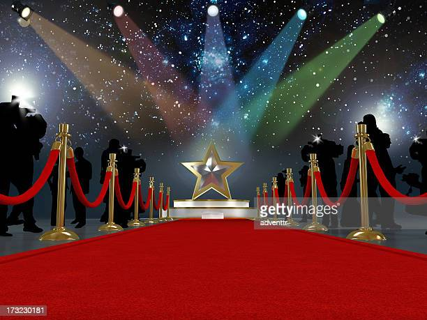 Red carpet star