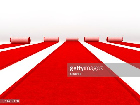 Red carpets rolling