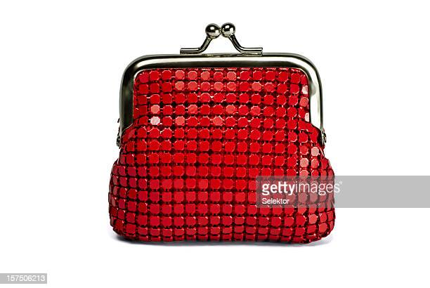 Red Change Purse