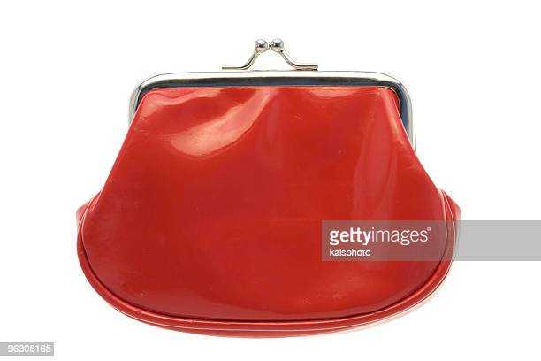 Red changing purse