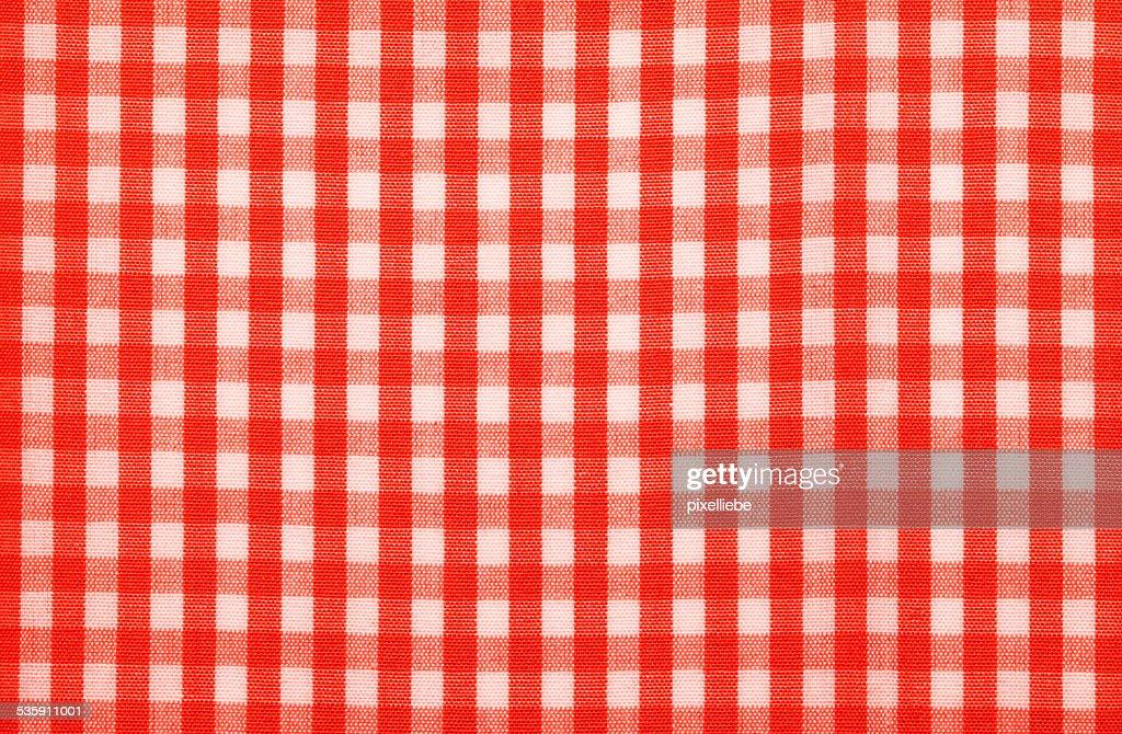 Vermelho tecido de Chegada : Foto de stock