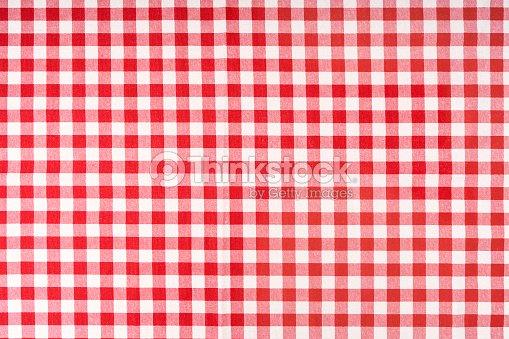 nappe à carreaux rouge photo | thinkstock