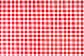 photo shot of checkered tablecloth
