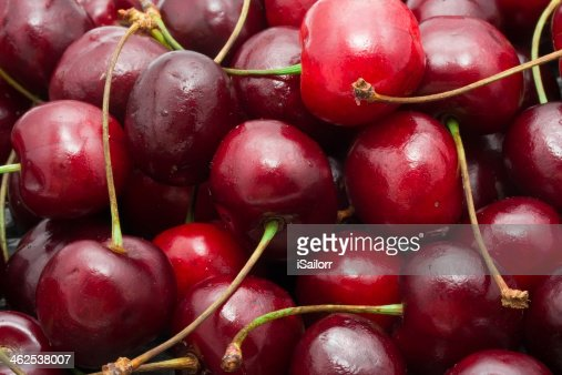 Red cherry : Stock Photo